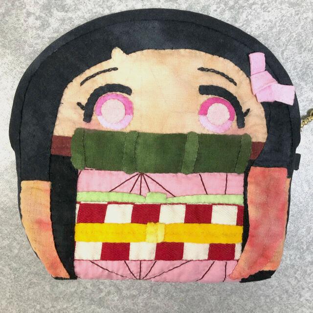 和キルト ポーチ 麻の葉 ご確認用 ハンドメイドのファッション小物(ポーチ)の商品写真