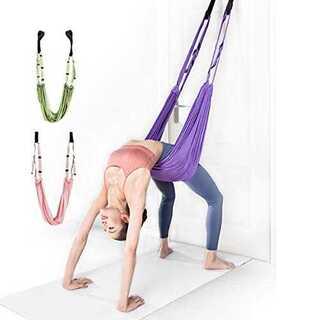 ピンク【Pk】LDT ヨガベルト 【2020新款】yoga フィットネスバンド (ヨガ)