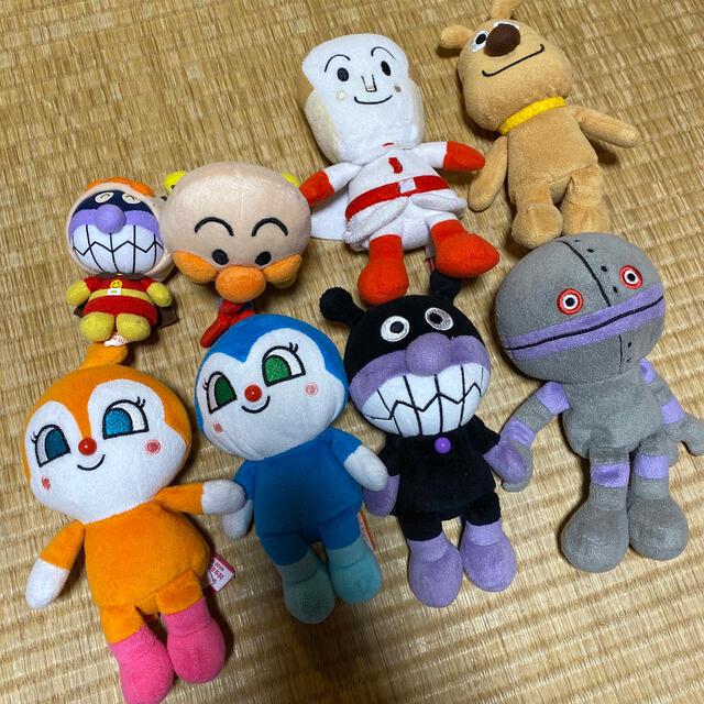 BANDAI(バンダイ)のアンパンマン ぬいぐるみセット エンタメ/ホビーのおもちゃ/ぬいぐるみ(ぬいぐるみ)の商品写真