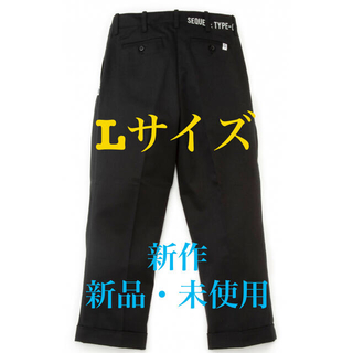 FRAGMENT - ✨新作✨SEQUEL CHINO TWO TUCK PANTS シークエル L✨