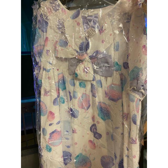 Angelic Pretty(アンジェリックプリティー)のangelic pretty dream marine ワンピースセット シロ レディースのワンピース(ひざ丈ワンピース)の商品写真