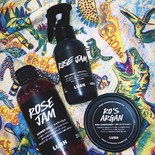 ラッシュ(LUSH)のLUSH ROSE JAM & RO'S ARGAN(ボディソープ/石鹸)