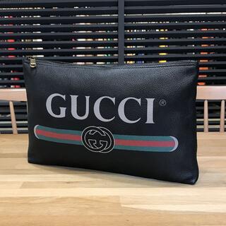 Gucci - 新品未使用 グッチ ポートフォリオ クラッチバッグ セカンドバッグ 黒
