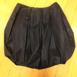 バーニーズニューヨーク(BARNEYS NEW YORK)のYOKO CHAN コクーンスカート(ミニスカート)