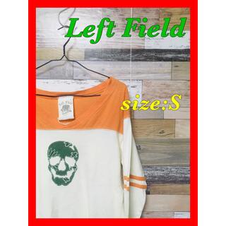 Left Field(レフトフィールド) スカル ロンT 大特価出品(Tシャツ/カットソー(七分/長袖))