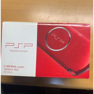 PlayStation Portable - SONY PlayStationPortable 本体 PSP-3000 RD