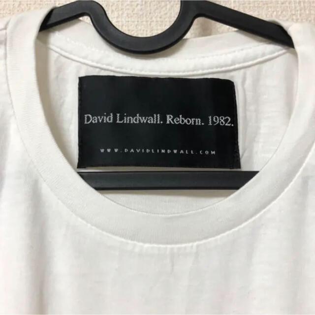 TMT(ティーエムティー)のDavid Lindwall Tシャツ Lサイズ キムタク着  メンズのトップス(Tシャツ/カットソー(半袖/袖なし))の商品写真