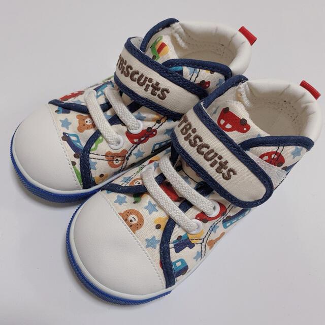 HOT BISCUITS(ホットビスケッツ)のミキハウス ホットビ 14cm キッズ/ベビー/マタニティのベビー靴/シューズ(~14cm)(スニーカー)の商品写真