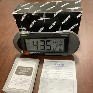 セイコー(SEIKO)の【みーわんさん専用】 SEIKO RAIDEN 目覚まし時計NR533K(置時計)