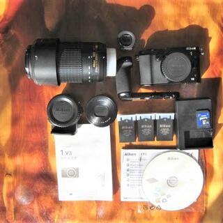 Nikon - Nikon1 V3プレミアムキット+ FT1+AF-P  DX 70-300mm