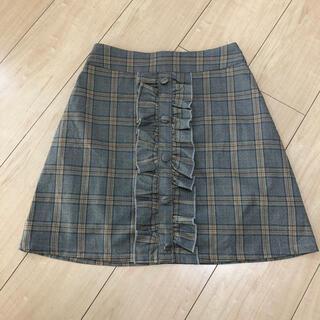 evelyn - evelyn チェックスカート