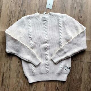 Gucci - gucciグッチダブルG刺繍ジャカード純色の女性用ニットセーター