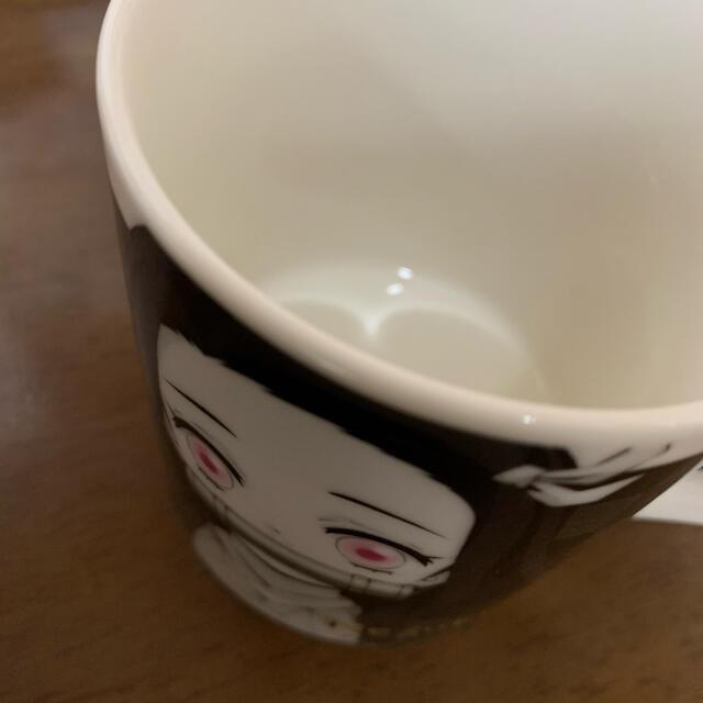 鬼滅の刃 竈門禰豆子 モノクローム マグカップ 1個 エンタメ/ホビーのおもちゃ/ぬいぐるみ(キャラクターグッズ)の商品写真