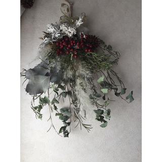 クリスマス  スワッグ(ドライフラワー)