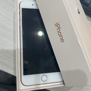 アップル(Apple)のiPhone 8 plus 64gb(スマートフォン本体)