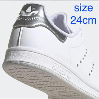 adidas - 未使用 adidas アディダス スタンスミス 24cm