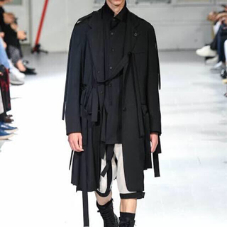 Yohji Yamamoto - Yohji Yamamoto pour homme20ss テープジャケット