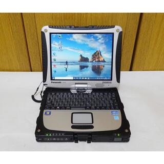 エヌイーシー(NEC)の1440時間&LTE タフブック CF-19 i5 メモリ12G&SSD512G(ノートPC)