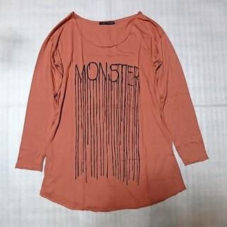 ヘザー(heather)のHeather プリント Tシャツ ヘザー(Tシャツ(長袖/七分))