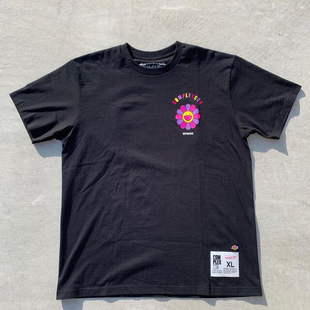 MITCHELL & NESS(ミッチェルアンドネス)のカイカイキキ 村上隆 コンプレックスコンT-shirt HELL VNTG メンズのトップス(Tシャツ/カットソー(半袖/袖なし))の商品写真