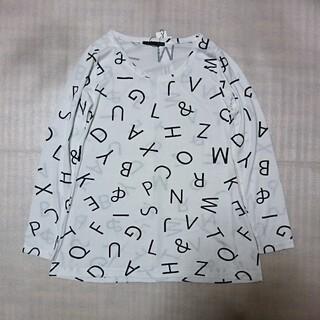ヘザー(heather)のHeather アルファベットPT Tシャツ ヘザー(Tシャツ(長袖/七分))