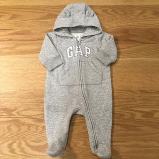 babyGAP - 【GAP】ベビーギャップ スウェット ロンパース 50〜60cm 0〜3m