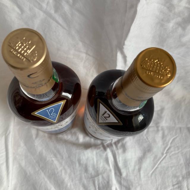 サントリー(サントリー)の2本セット!旧ボトル マッカラン12年 スコッチ オーク シェリー ウイスキー 食品/飲料/酒の酒(ウイスキー)の商品写真