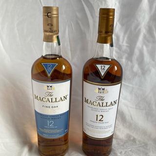 サントリー - 未開封!旧ボトル!希少!The MACALLAN 12/マッカラン12年