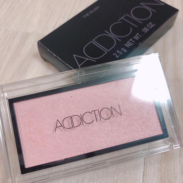 ADDICTION(アディクション)のADDICTION ブラッシュ フォーリンラブ 002 コスメ/美容のベースメイク/化粧品(チーク)の商品写真