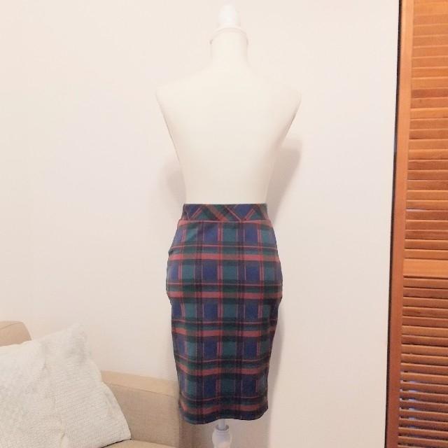 JOURNAL STANDARD(ジャーナルスタンダード)の美品⚪️JOURNAL STANDARD チェック柄タイトスカート レディースのスカート(ひざ丈スカート)の商品写真