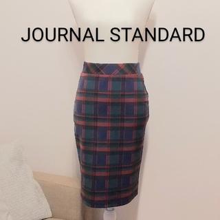JOURNAL STANDARD - 美品⚪️JOURNAL STANDARD チェック柄タイトスカート