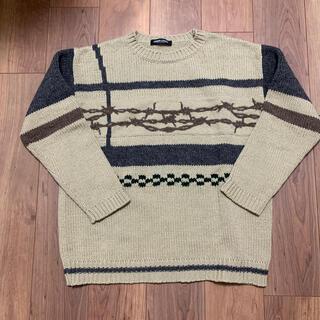 UNDERCOVER - undercover  アンダーカバー セーター 有刺鉄線 オリジナル