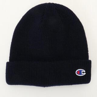 Champion - チャンピオン ビーニー ニット帽 ブラック