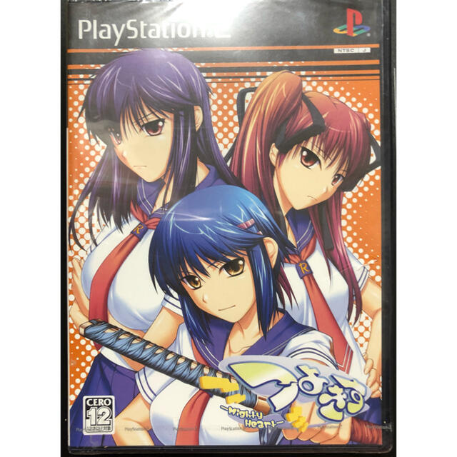 PlayStation2(プレイステーション2)のつよきす -Mighty Heart-  PS2 (新品未開封) エンタメ/ホビーのゲームソフト/ゲーム機本体(家庭用ゲームソフト)の商品写真