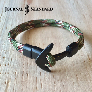 JOURNAL STANDARD - 美品 JOURNAL STNDARD アンカーフックブレスレット カモフラ