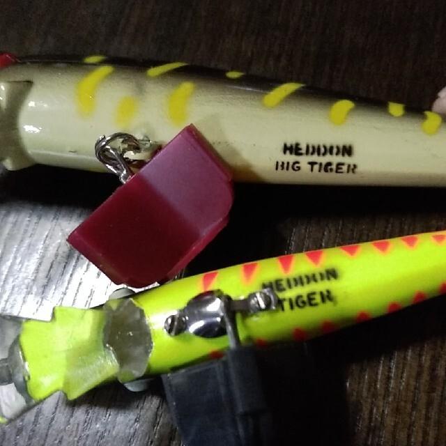 ヘドン タイガー バス釣り オールドルアー スポーツ/アウトドアのフィッシング(ルアー用品)の商品写真