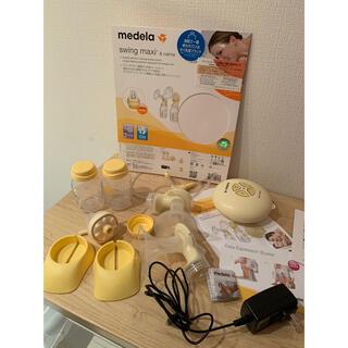 アカチャンホンポ - メデラ(medela)電動搾乳機スイング・マキシ フリーザーパック付き