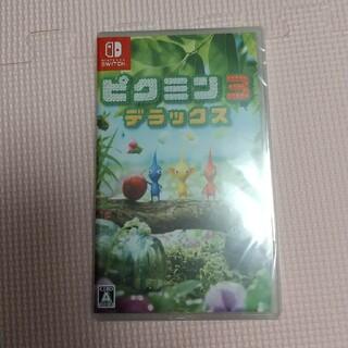 Nintendo Switch - ピクミン3 デラックス 特典ストラップ付