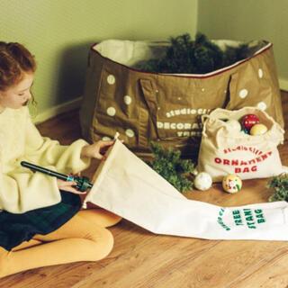 スタディオクリップ(STUDIO CLIP)のスタディオクリップ studio CLIP クリスマスツリー 収納バッグセット(ケース/ボックス)