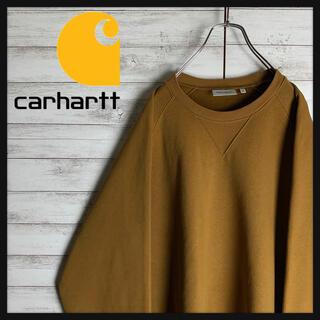 carhartt - 【希少カラー】カーハートWIP☆ワンポイント刺繍ロゴ肉厚スウェット 入手困難美品