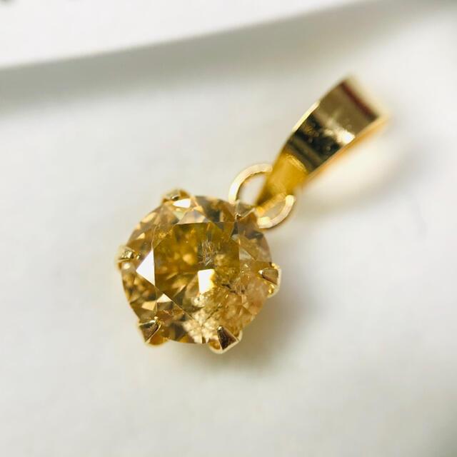 K18YG ペンダントトップ ダイヤモンド 0.40ct AANI アニ レディースのアクセサリー(ネックレス)の商品写真