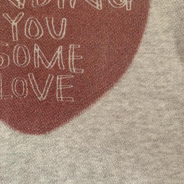 BREEZE(ブリーズ)のブリーズ キッズトレーナー 130 キッズ/ベビー/マタニティのキッズ服女の子用(90cm~)(Tシャツ/カットソー)の商品写真