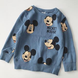 NEXT - ネクスト ディズニー ミッキーマウス トレーナー 3歳 4歳 105