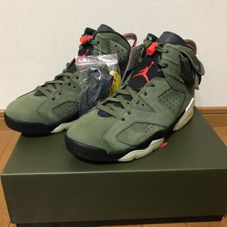 NIKE AIR JORDAN6 Travis Scott 27.5(スニーカー)