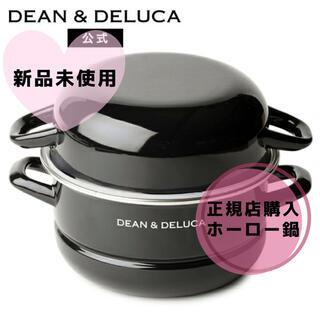 ディーンアンドデルーカ(DEAN & DELUCA)の【新品未使用】DEAN&DELUCA ホーロー鍋 18cm Lサイズ(鍋/フライパン)