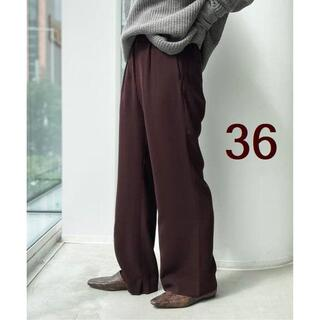 L'Appartement DEUXIEME CLASSE - アパルトモン★【GOOD GRIEF/グッドグリーフ】Wide Pants 36