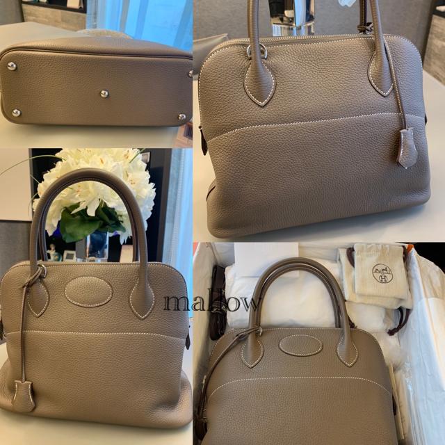 Hermes(エルメス)の新品未使用❤️エルメスボリード31❤️エトゥープ レディースのバッグ(ハンドバッグ)の商品写真