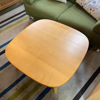 MUJI (無印良品) - 美品⭐️無印良品 テーブル こたつ ナチュラル