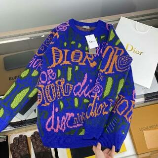 クリスチャンディオール(Christian Dior)の男性用ディオールの落書きセーター(ニット/セーター)