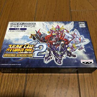 ゲームボーイアドバンス(ゲームボーイアドバンス)のスーパーロボット大戦 オリジナルジェネレーション2 GBA(携帯用ゲームソフト)